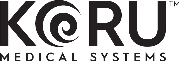 Koru Medical Systems secondary black logo