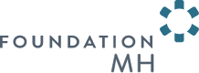 Foundation MH gray and blue logo