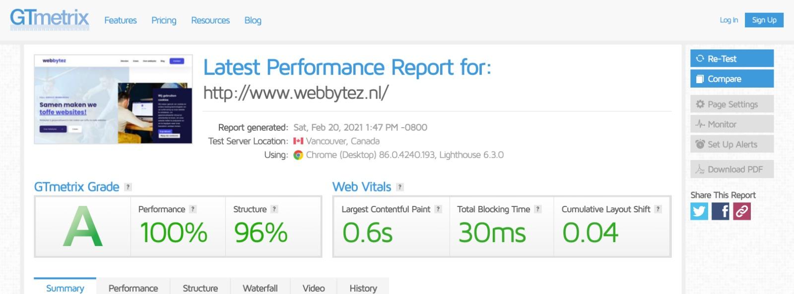 Webbytez webflow interface