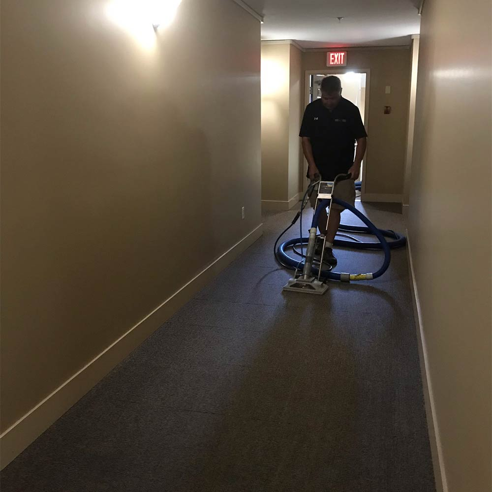 Commercial carpet cleaning in Kelowna