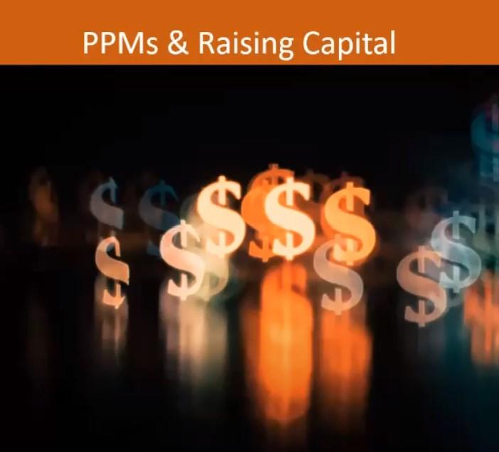 Raising Capital, PPMs, Private placement exemptions, SEC exempt, raising money, public offering,
