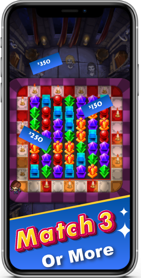 Play match3 games online for free