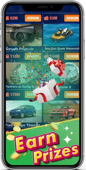 earn prizes by playing cash mobile games