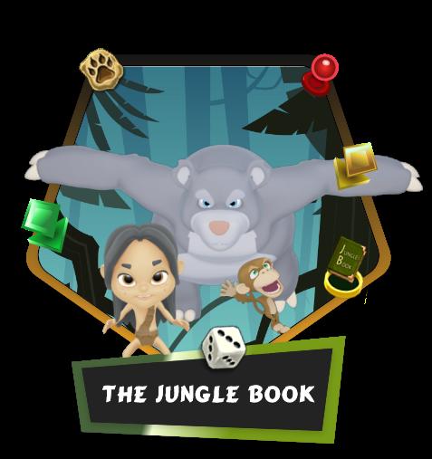Jungel Book match3 game