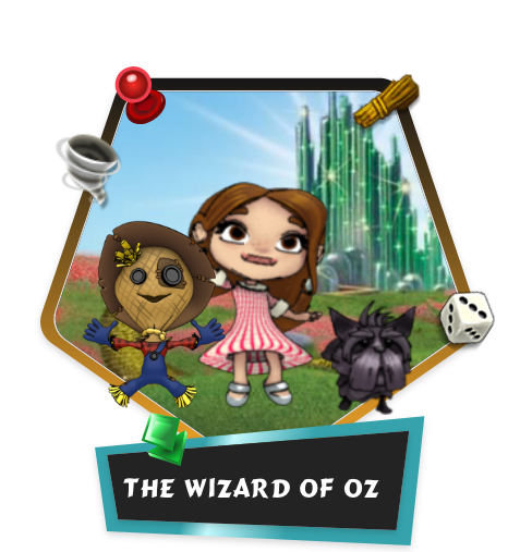 The Wizard of Oz match3 game
