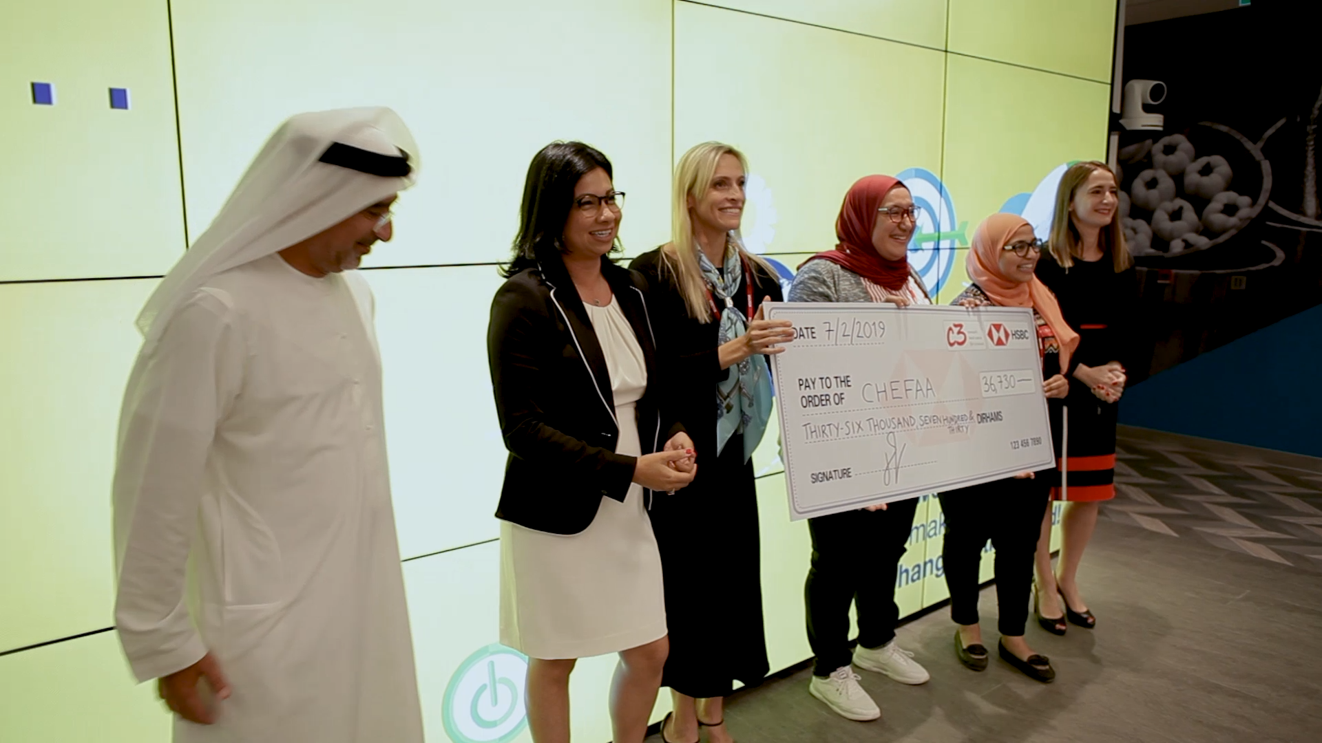 Chefaa named winner of the C3 Social Impact Accelerator Program 2019 powered by HSBC