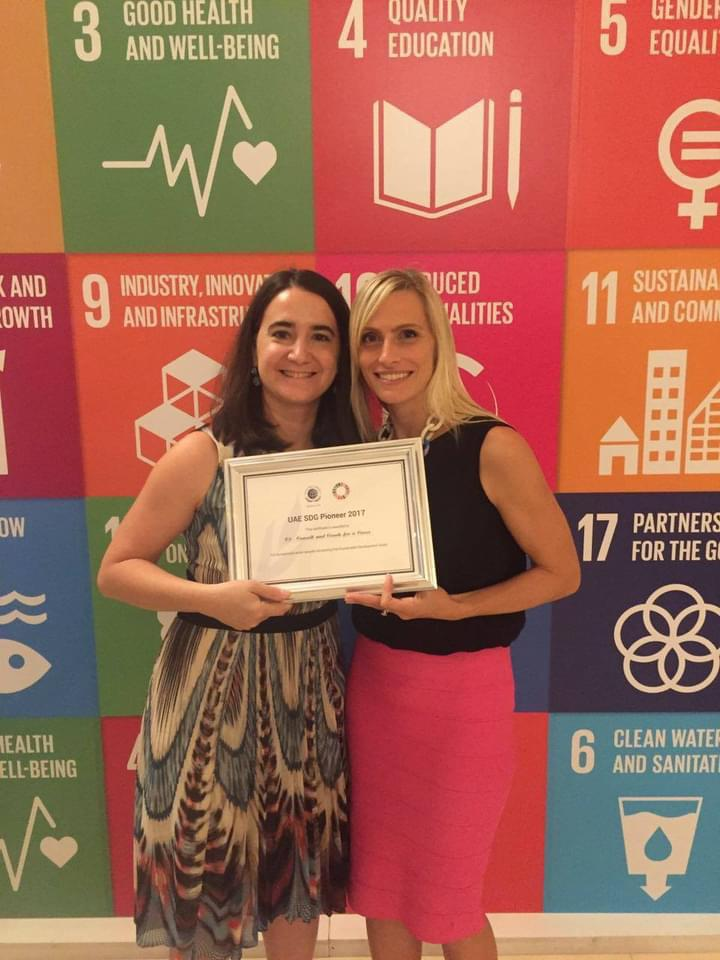 C3 recognized as UN Sustainable Development Goals Pioneer in the UAE