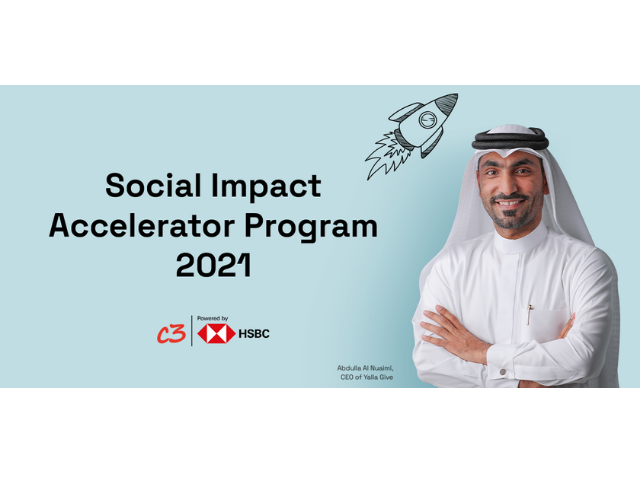 C3 and HSBC launch the third edition of the Social Impact Accelerator Program 2021 in MENAT
