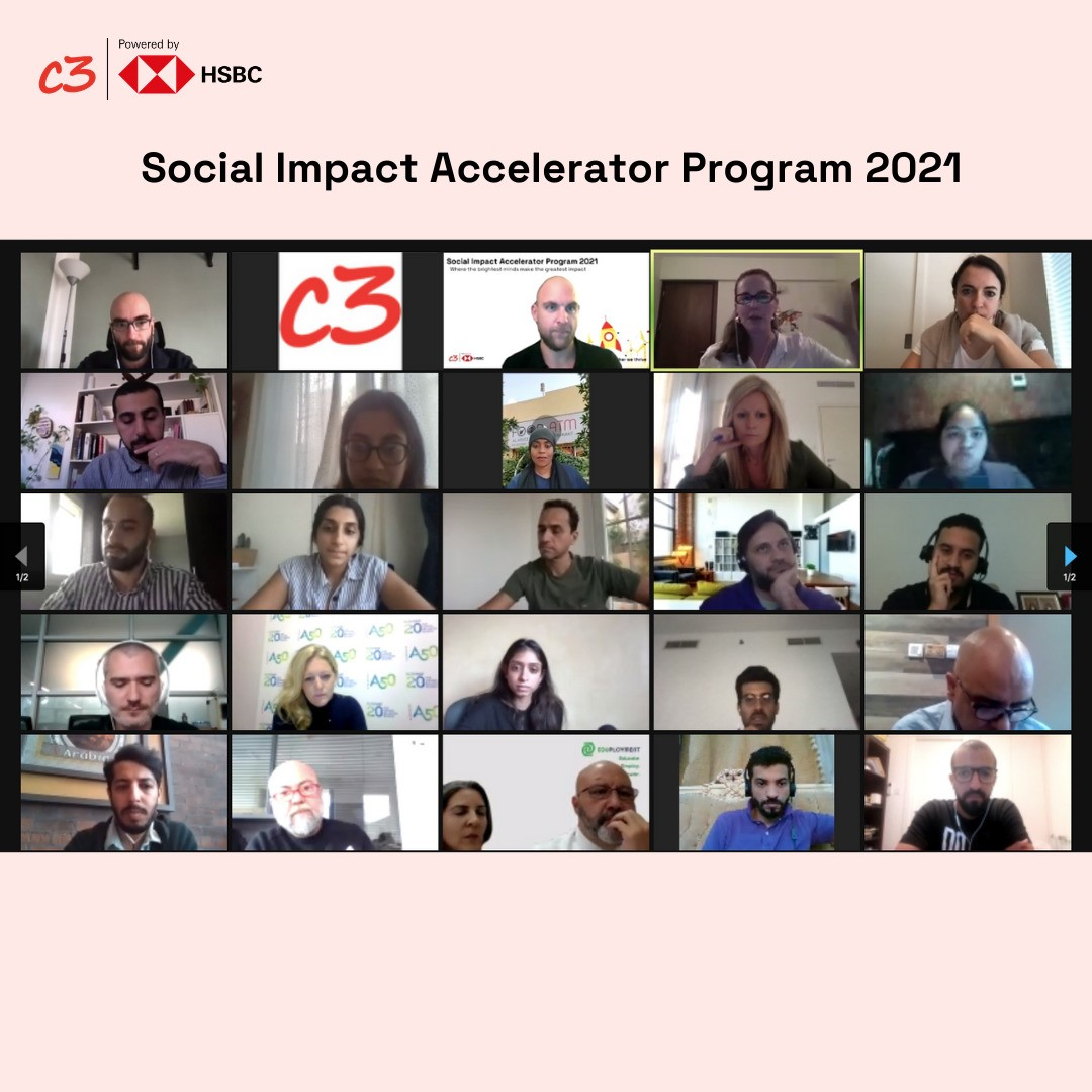 DMCC partners with C3 for the third edition of the C3 Social Impact Accelerator Program – Powered by HSBC