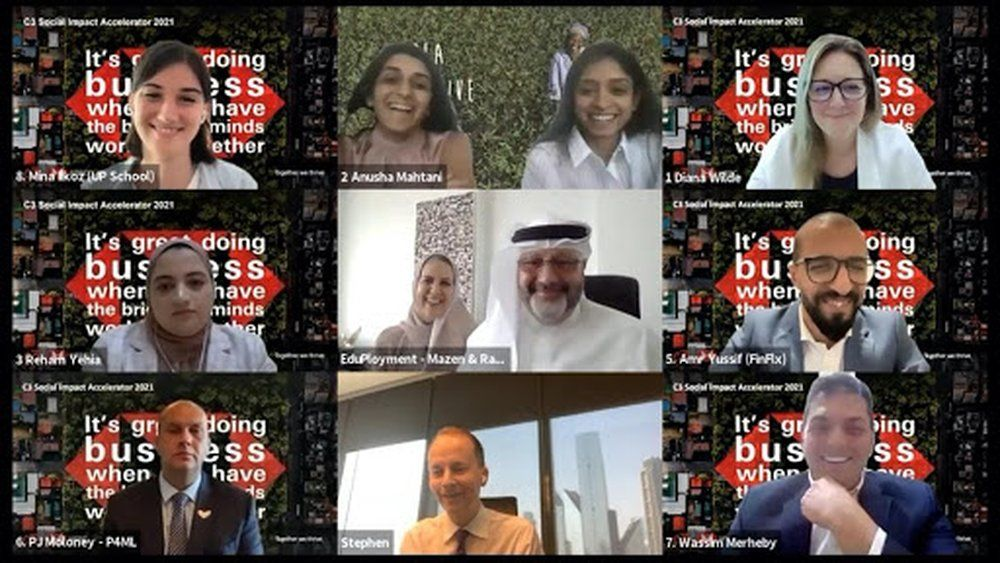 Egyptian and UAE start-ups crowned winners of regional competition