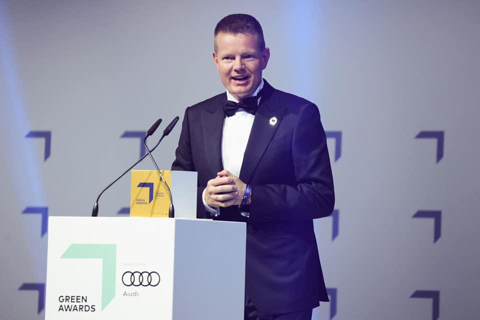 Desert Control won the GREEN AWARD for INNOVATION at Greentech festival in Berlin