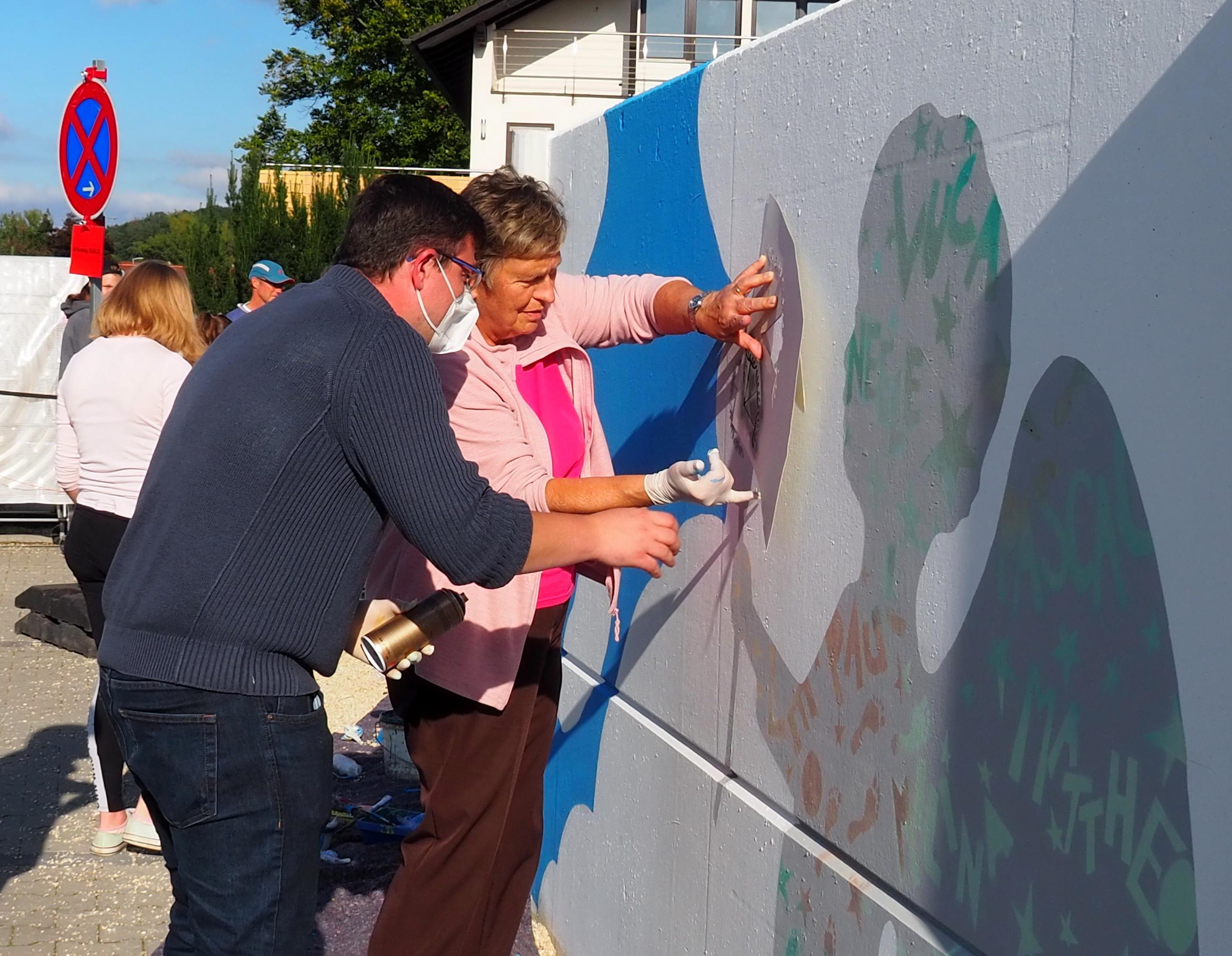 Kunst für alle - Streetart Strullendorf