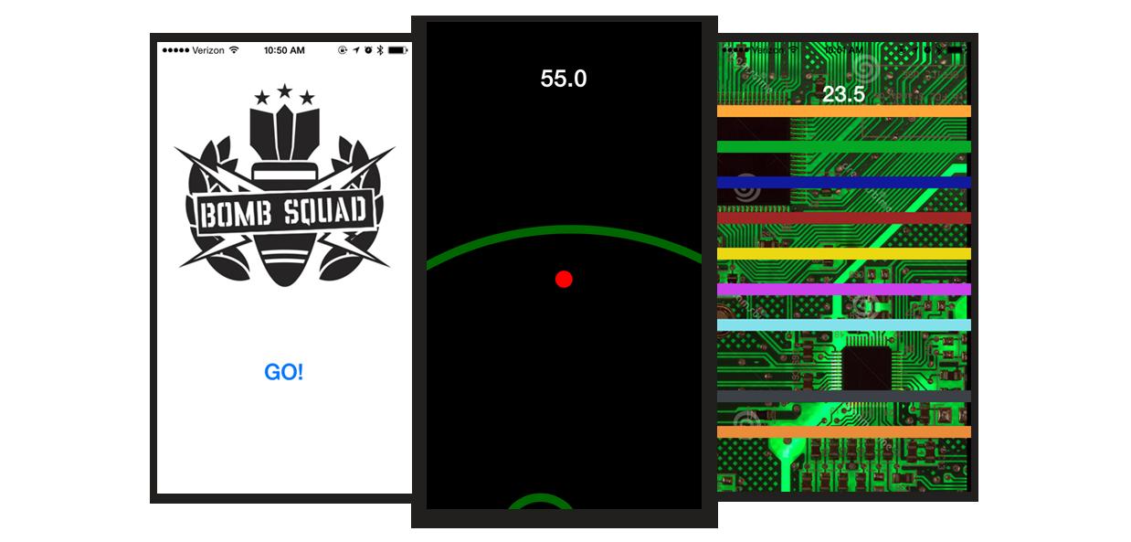 Bomb Squad App Prototype