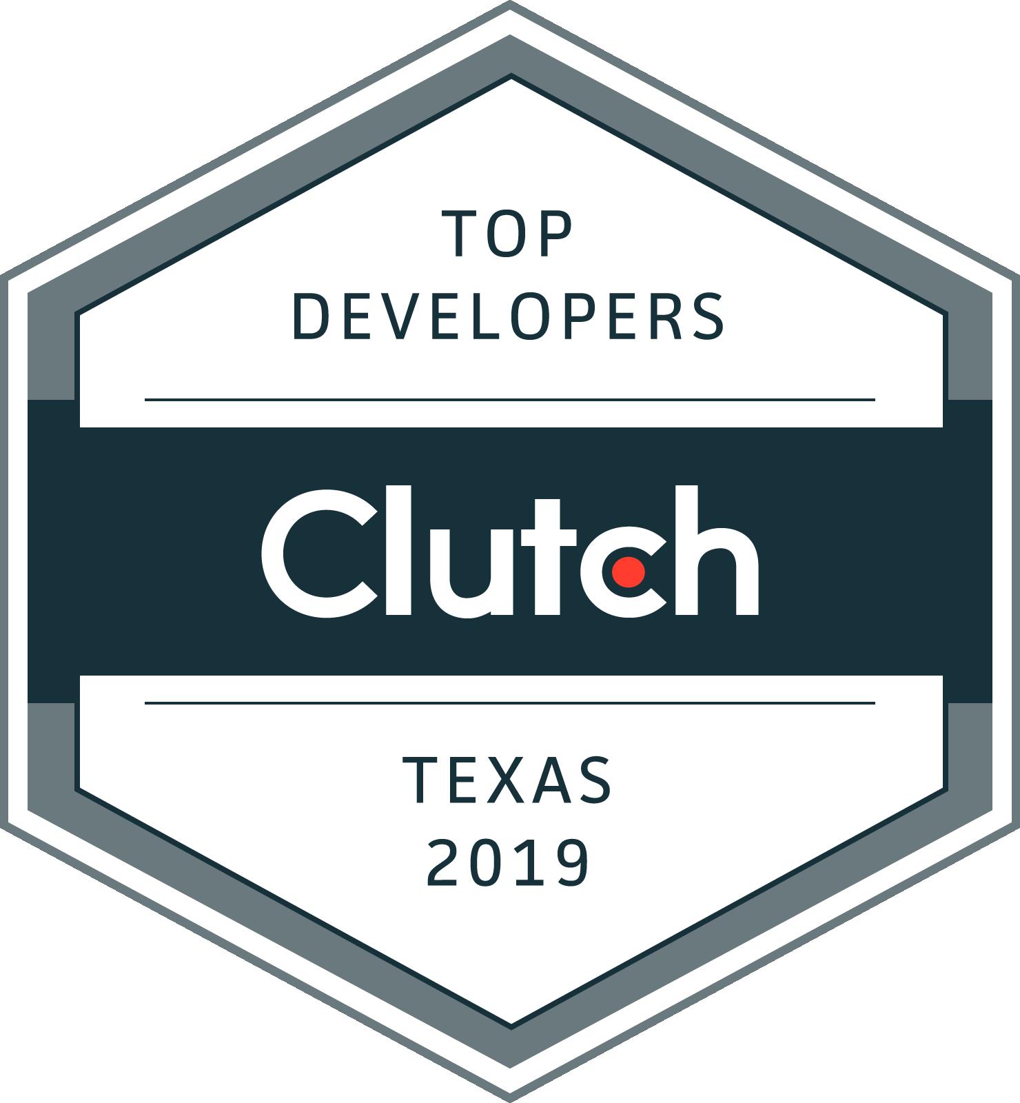 Clutch Names Mutual Mobile as a 2019 Top Developer in Texas