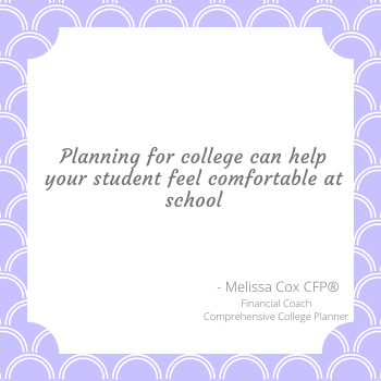 Creating a Comprehensive College plan can help you determine where your child will be most comfortabe.
