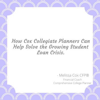 Cox Collegiate Planners aims to help the student loan crisis