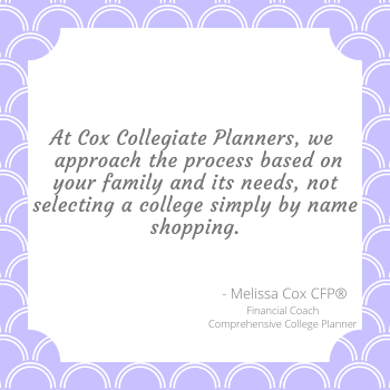 Cox Collegiate Planners aims to look past names when creating comprehensive college plans.