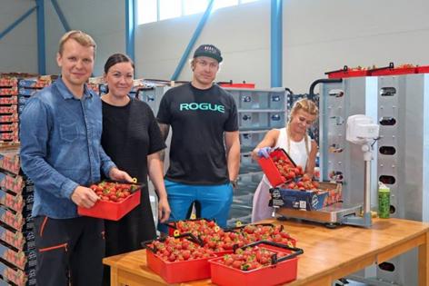 Makela Strawberry Farm team