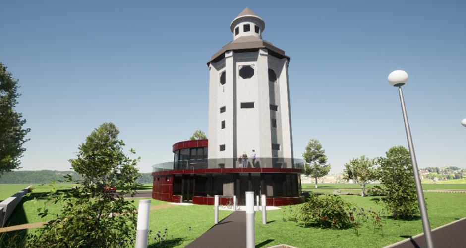 Revitalisierung eines Wasserturmes in Berndorf
