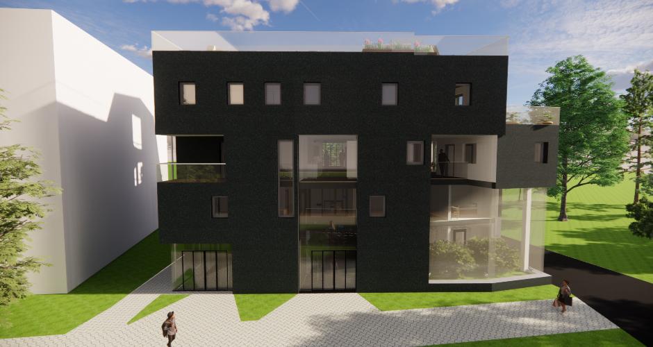 Studentenwohnheim mehrfunktional/grün
