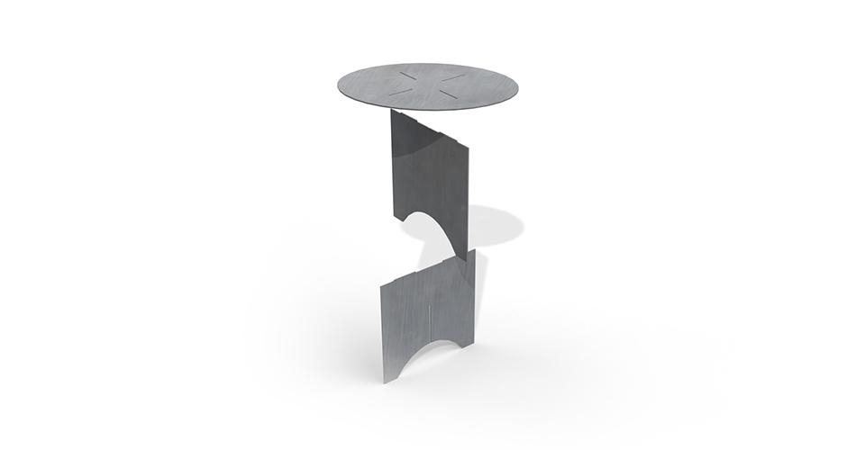 Eter-ellipse - der kompatke Outdoor-Tisch