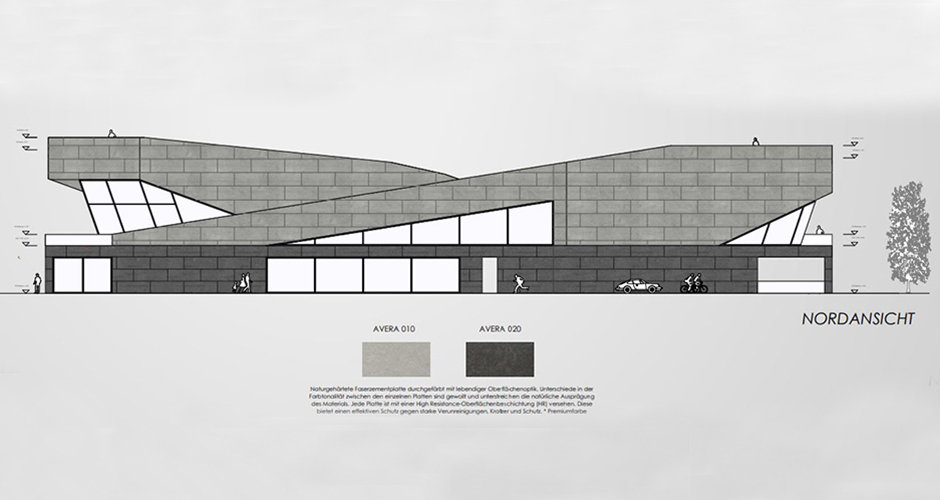 Planung eines Autohauses - Bruck an der Glocknerstraße