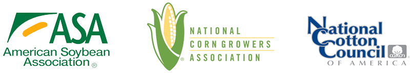 American Soybean Association, National Corn Growers Association, and the National Cotton Council of America