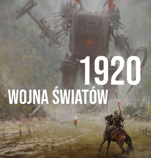 Książka Wojna Światów 1920