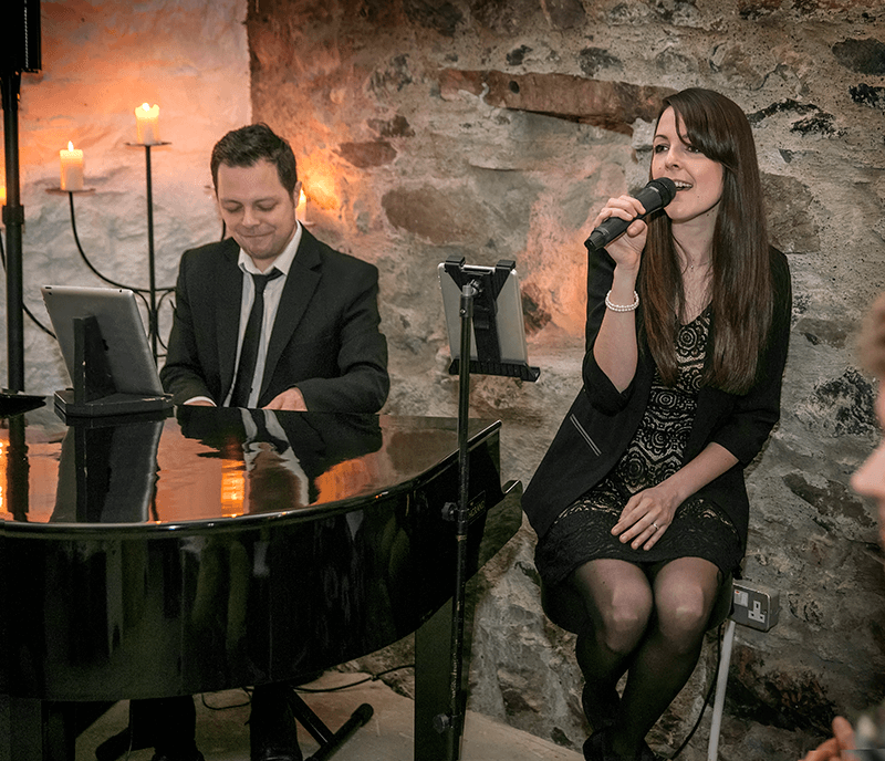 CARLY AND RUSS WEDDING SINGER & PIANIST