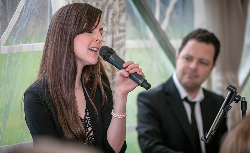 Carly and Russ -  piano vocal duo based in North Wales, UK