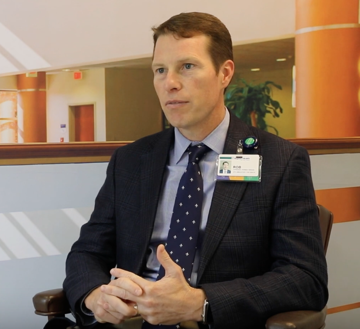 An example of a Baptist Health employee with a health leadership role