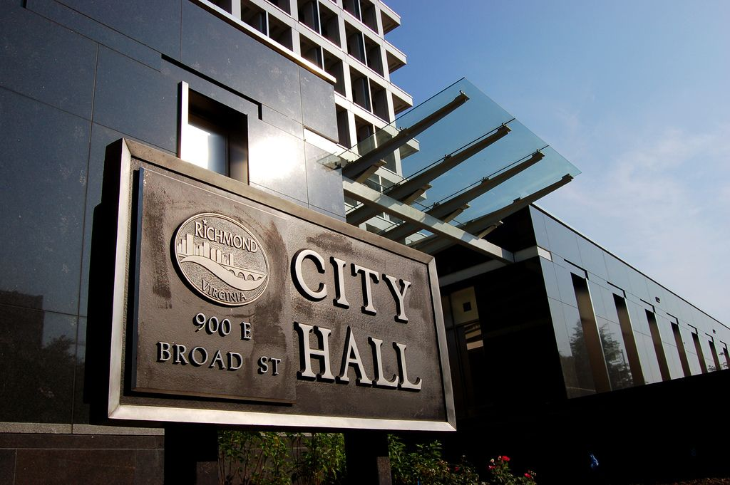 Richmond City Hall early voting location