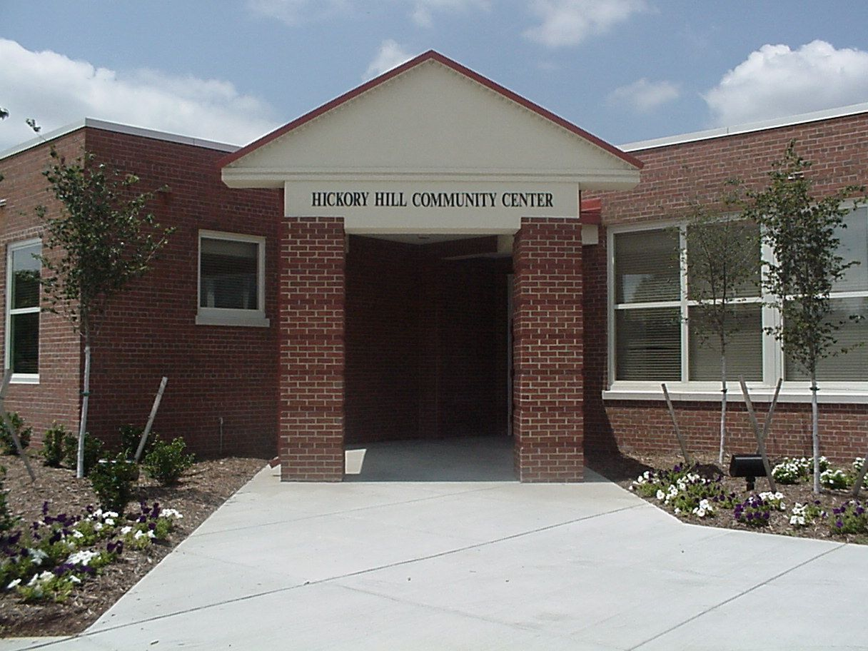 Hickory Hill Community Center early voting location