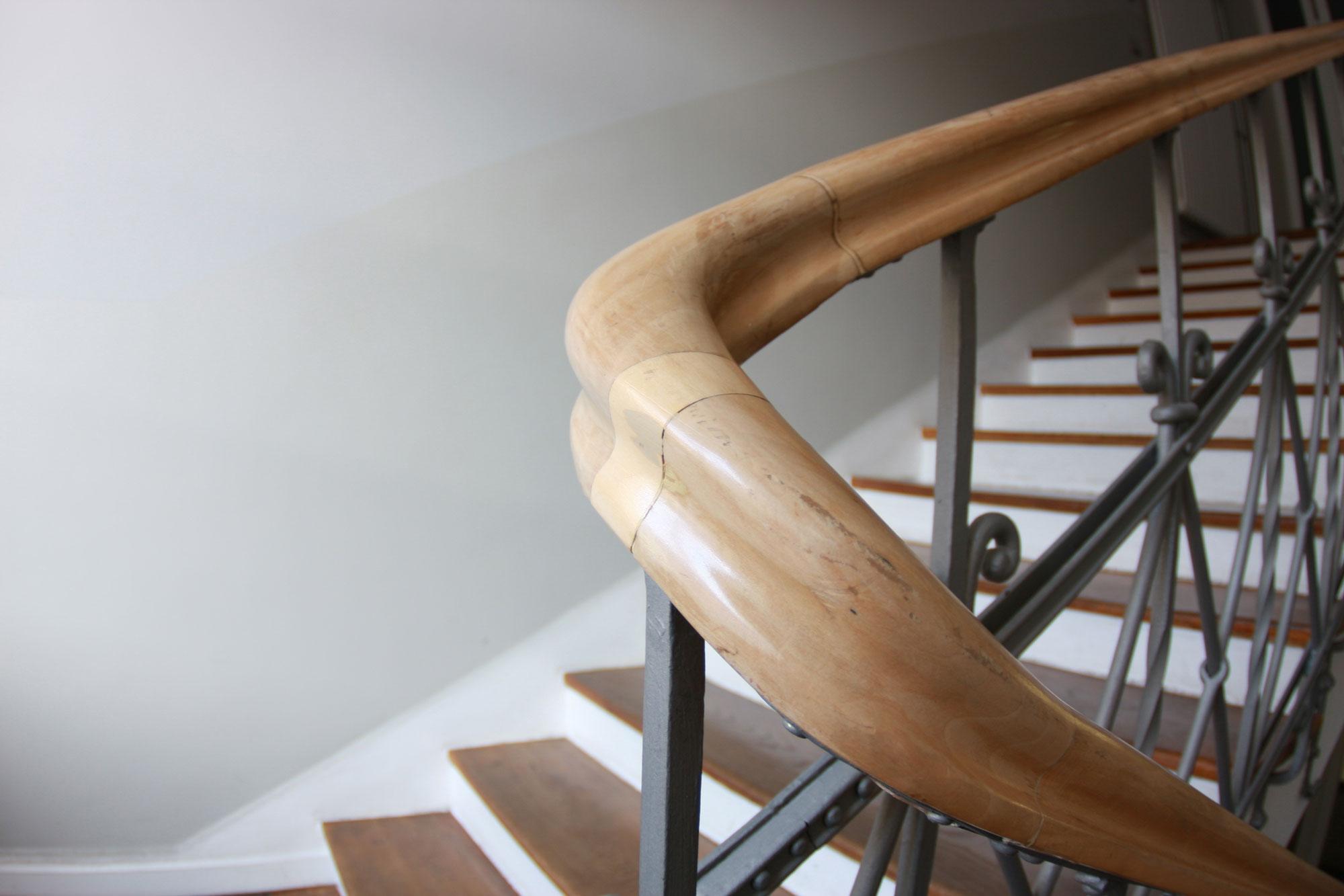 1-10-Treppenaufbau/Handlauf