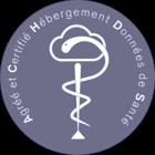 Logo HDS (hébergeur de données de santé)