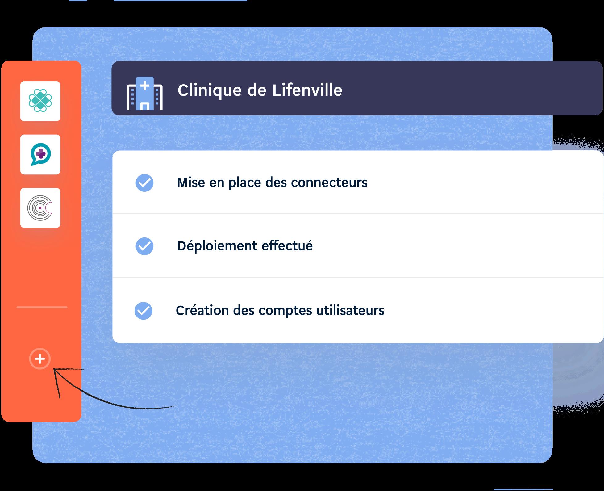 représentation des services d'interopérabilité de Lifen