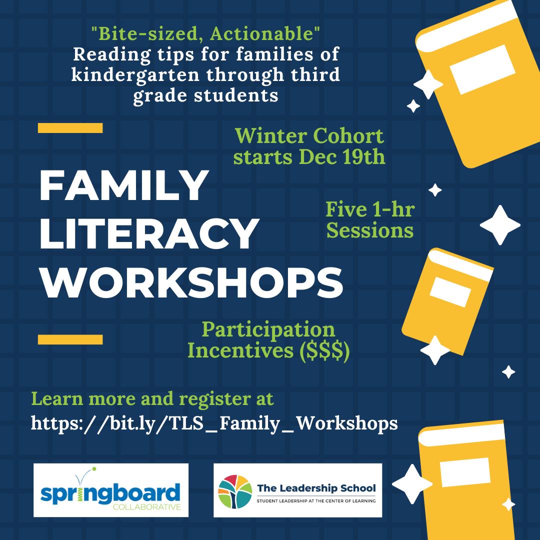 Family Literacy Workshops