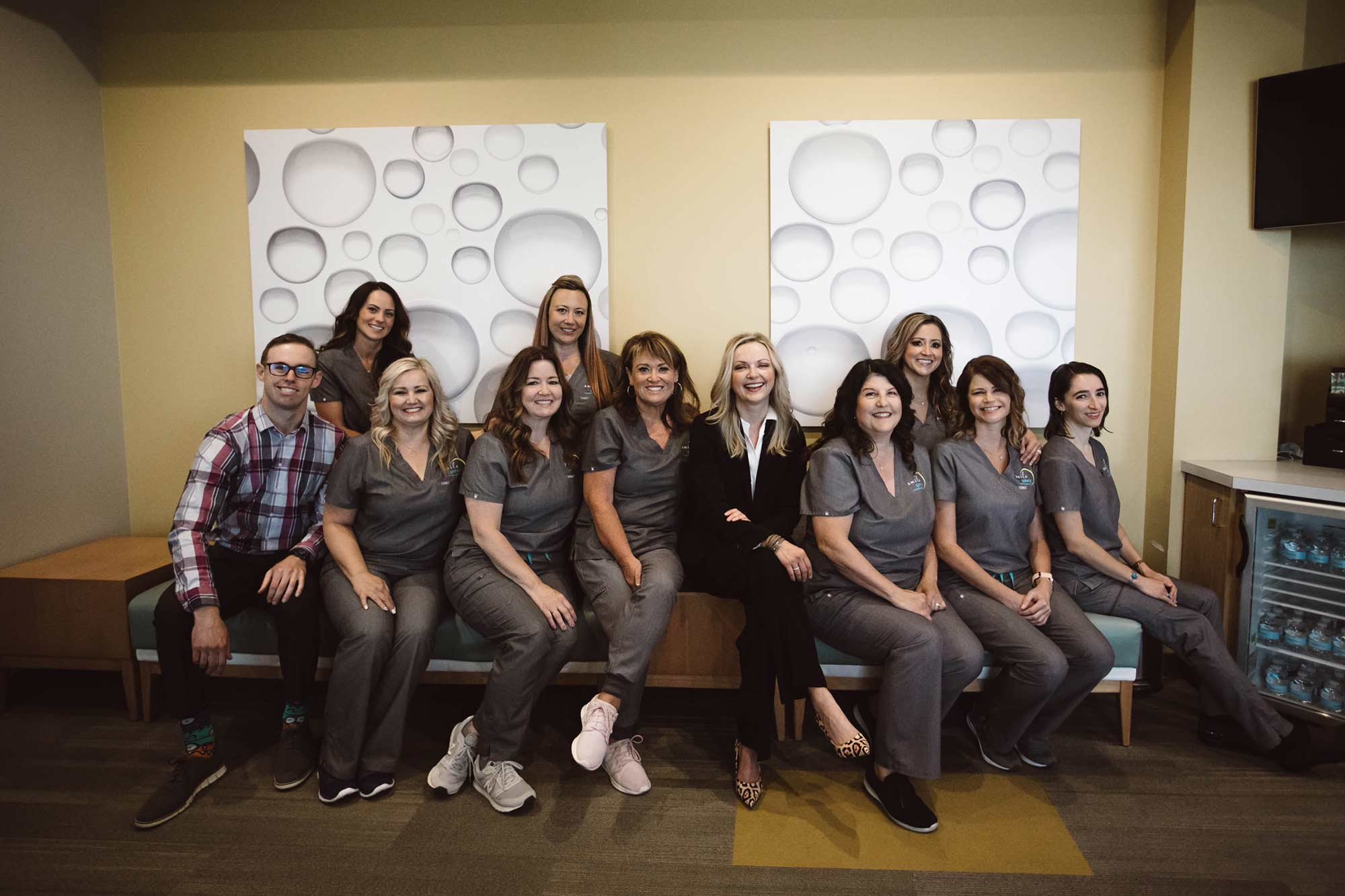 A photo of the Smile Gallery Pediatric Dentistry team