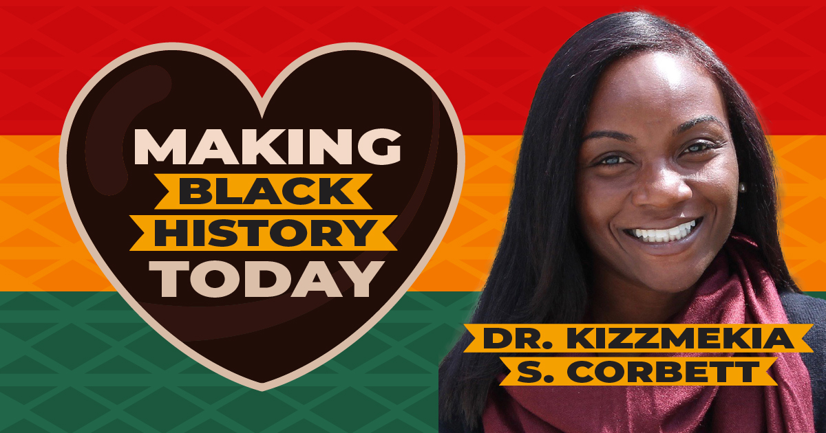 Making Black History Today: Dr.Kizzmekia S. Corbett