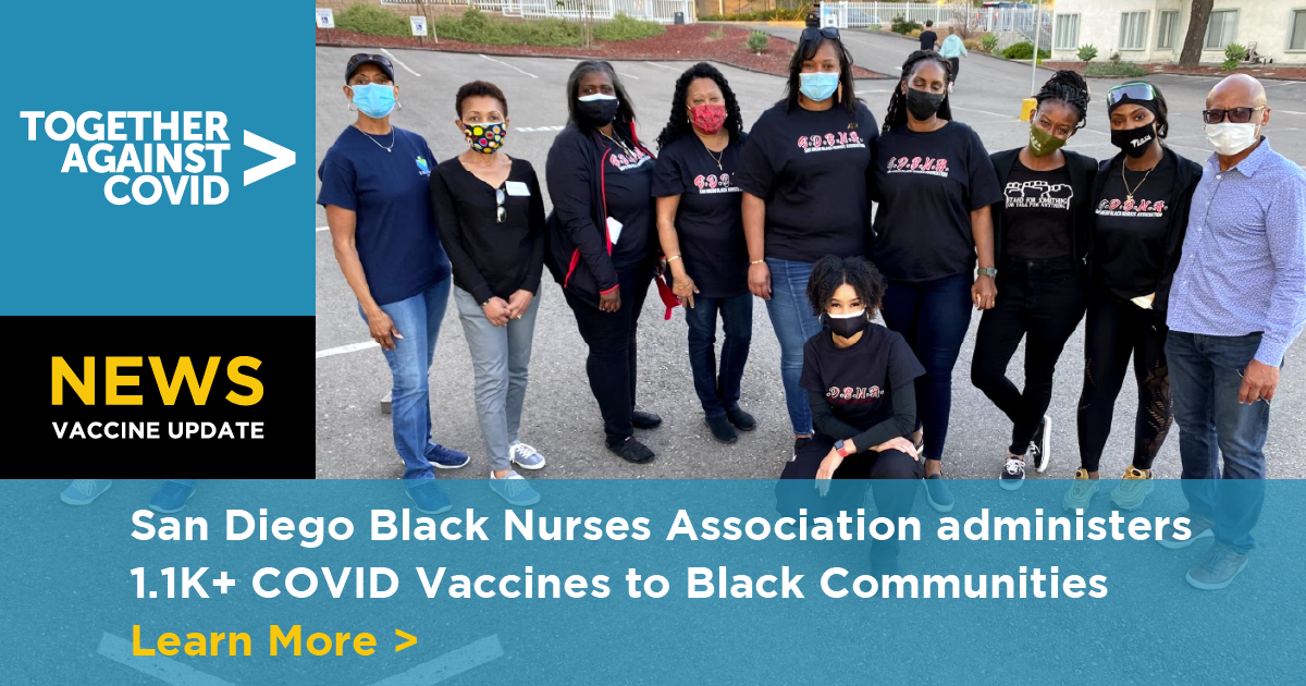 Black nurses bring vaccine to community centers, churches to target under-served people