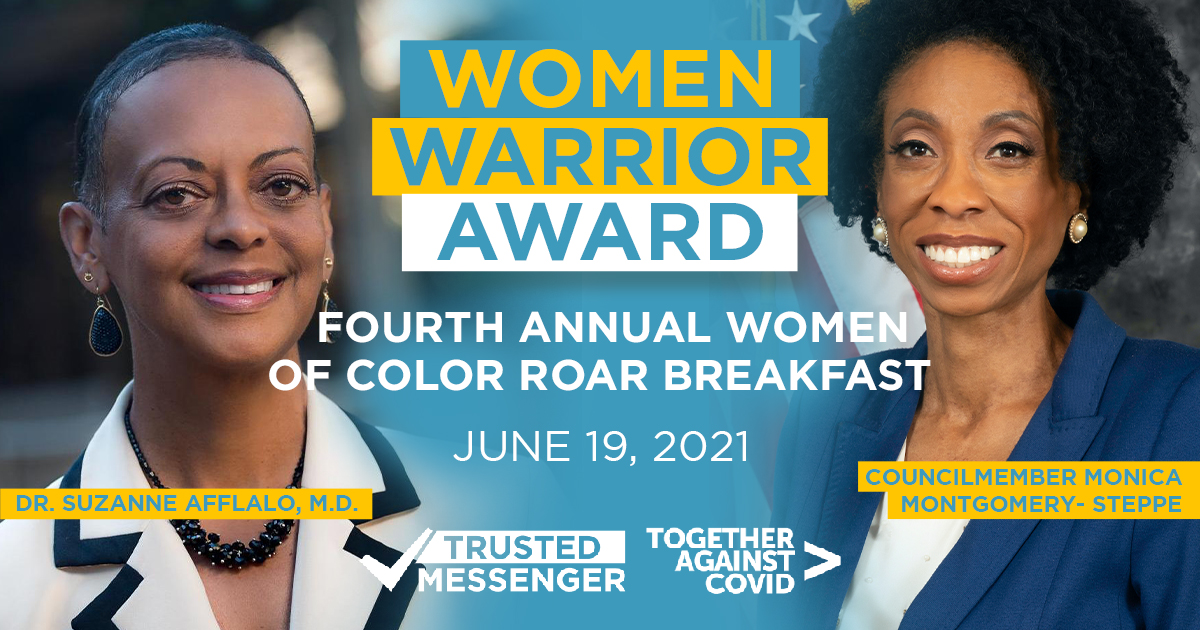 Our Trusted Messengers Honored with the Women Warrior Award
