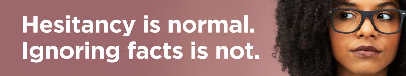 Hesitancy is Normal.