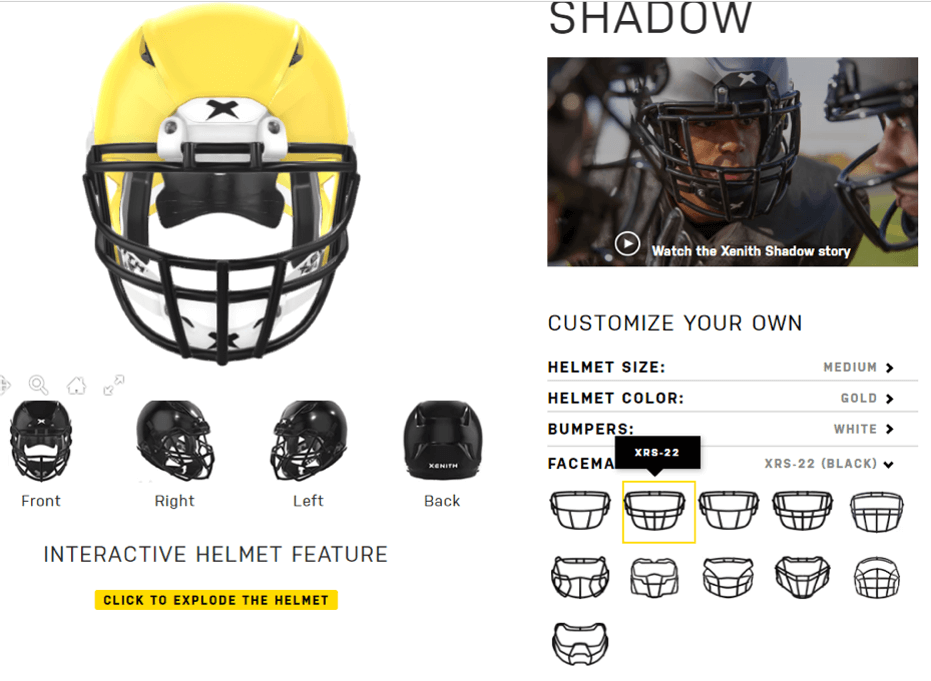 Xenith – helmets