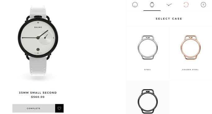 Baume Watches – watch design