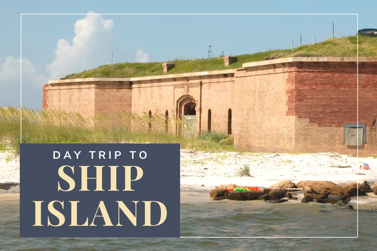 Fort Massachusetts at Ship Island - Day Trip to Ship Island Mississippi