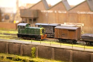 Mini Railroad model