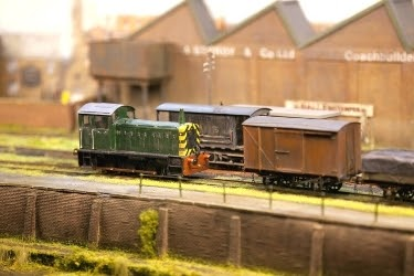 Mini Railroad model