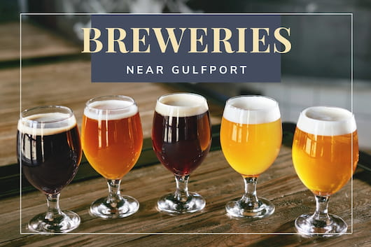 Glasses of beer - Breweries Near Gulfport