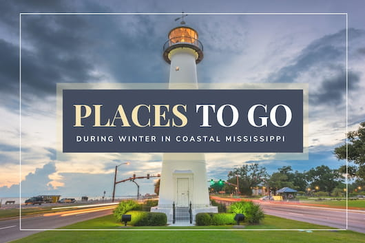 Biloxi Lighthouse - Places to go during winter in Coastal Mississippi