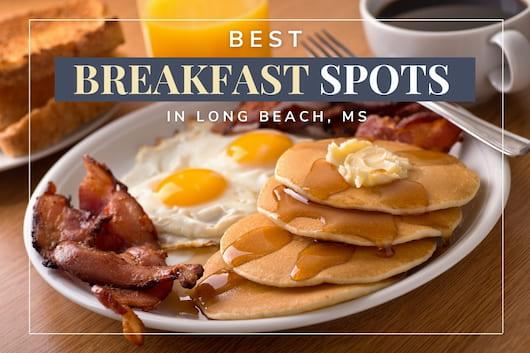 Breakfast dishes with eggs, croissants, etc. - Best Breakfast Spots in Long Beach, MS